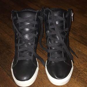 Candies zip up high top sneaker